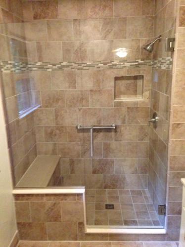 Shower door 27