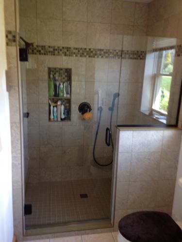 Shower door 28