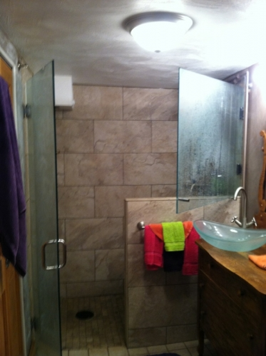 Shower door 47b