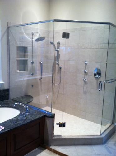 Shower door 14