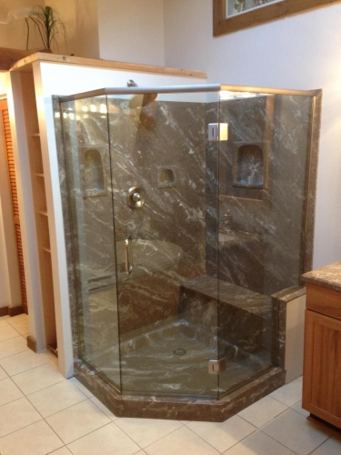 Shower  door 43