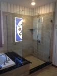Shower door 44 After