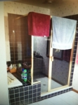 Shower door 44 Before